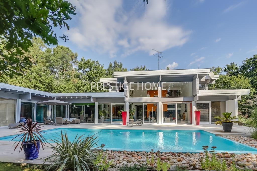 Bordeaux villa luxe for Achat maison yvrac